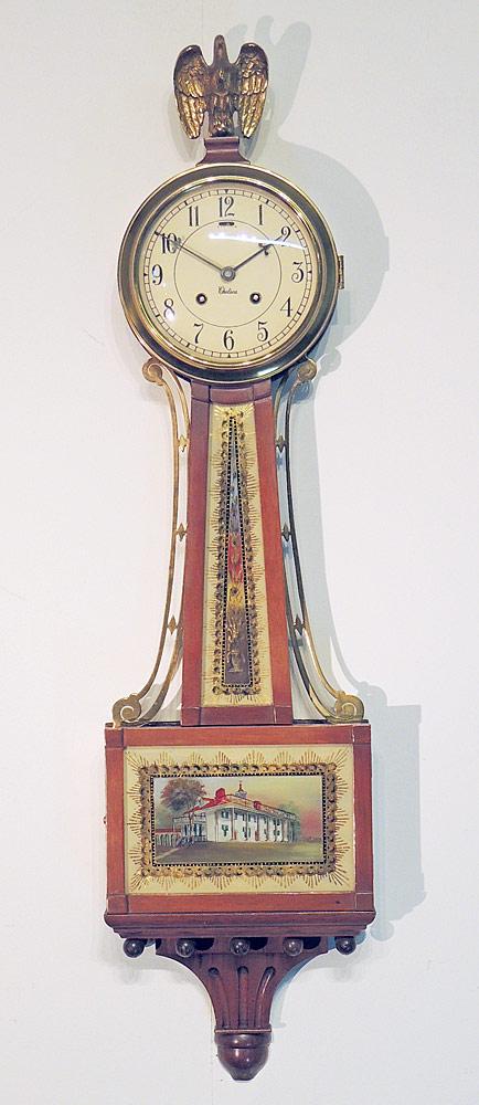 Chelsea Mahogany Banjo Clock