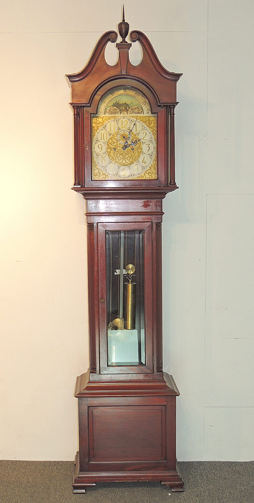 Herschede Mahogany-case Tall Clock