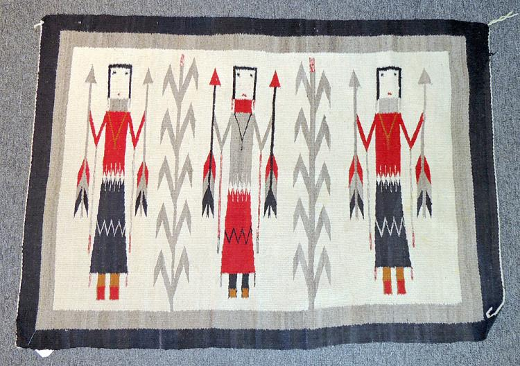 Navajo Pictorial Weaving