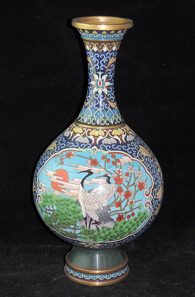 Asian Cloisonné Vase