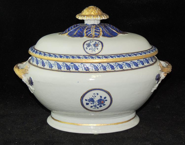 Chinese Export Covered Tureen