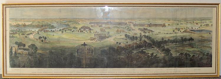 Philadelphia Centennial Panoramic Print