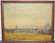 Walter Emerson Baum, Oil on Panel, Allendown