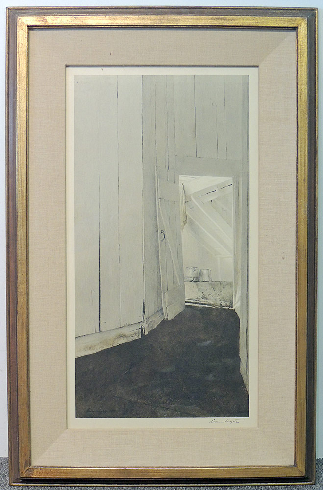 Andrew Wyeth Signed Print