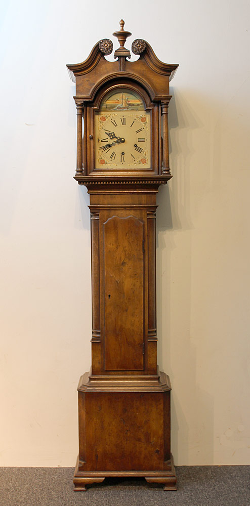 20th C. Bench-Made Dwarf Clock