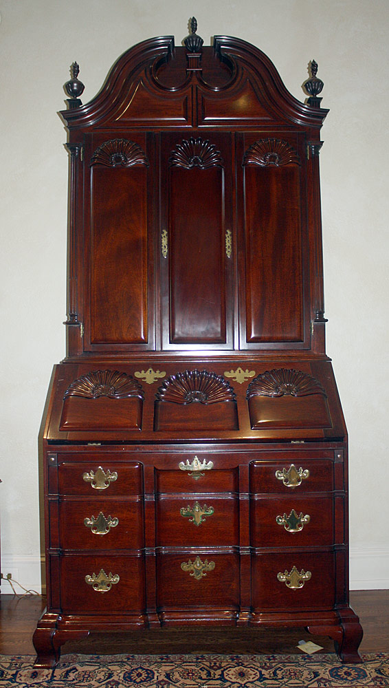 Kindel Winterthur Reproduction Secretary Desk