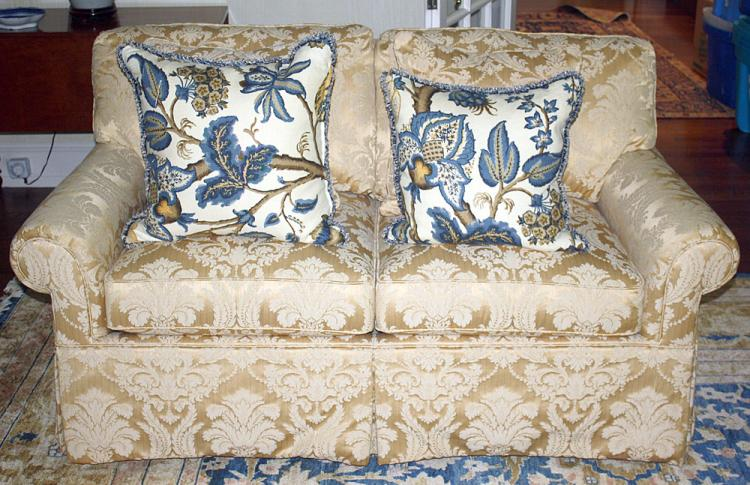 Pair of Robb and Stucky Loveseats