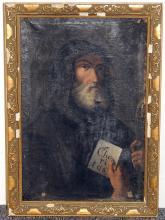 Continental School Oil/Canvas, Religious Portrait