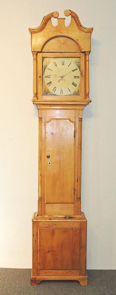 Henry Crew, Ledbury Tall Case Clock