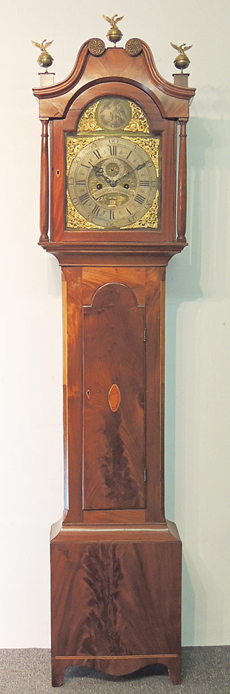 Joseph Way, Trowbridge Tall Case Clock