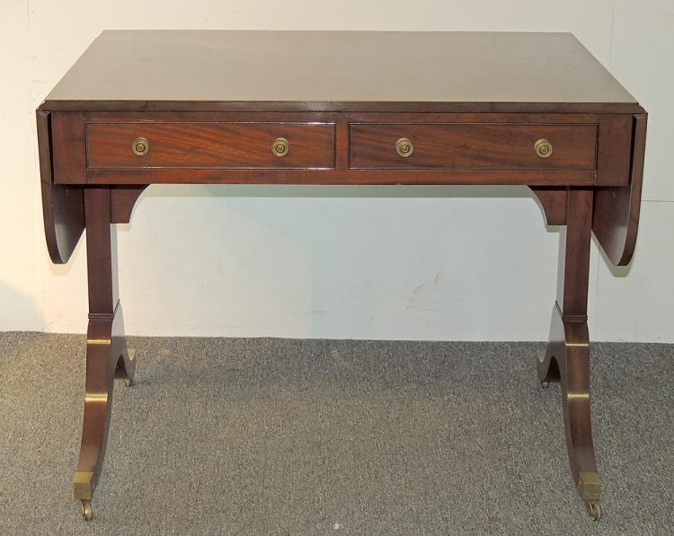 Saybolt Cleland Mahogany Sofa Table