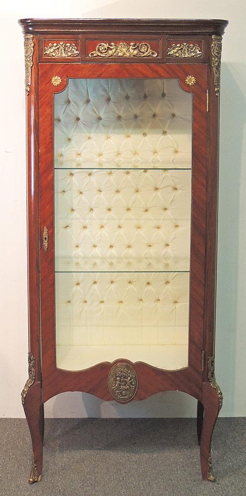 French Ormolu Curio Cabinet