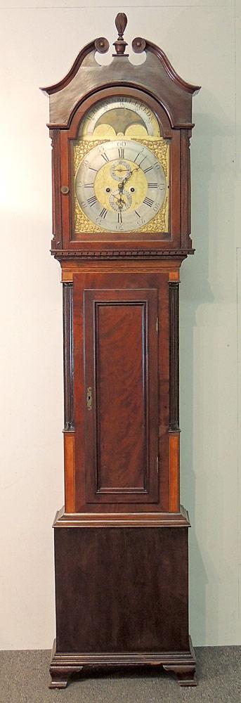 H. Brownbill, Leeds Tall Case Clock