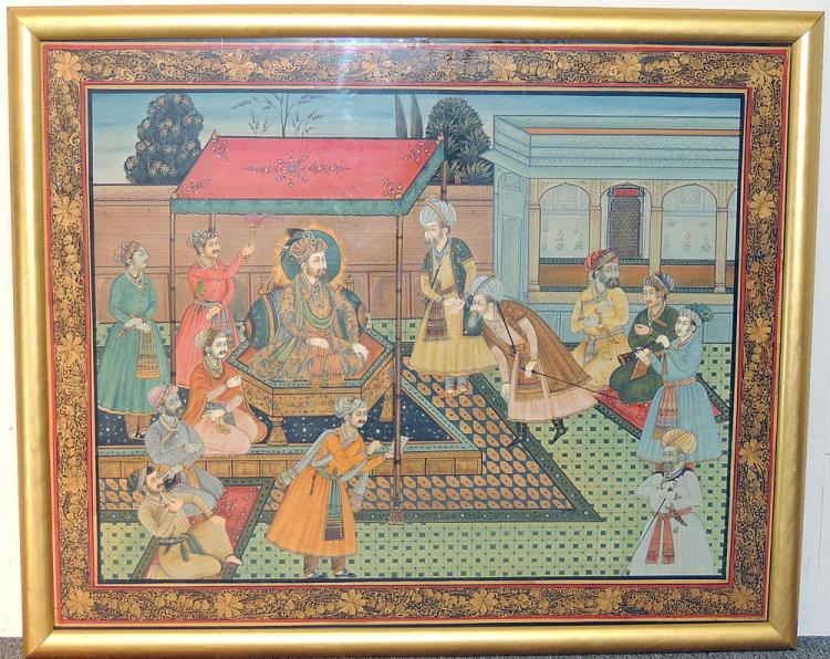 Indian Temple Painting