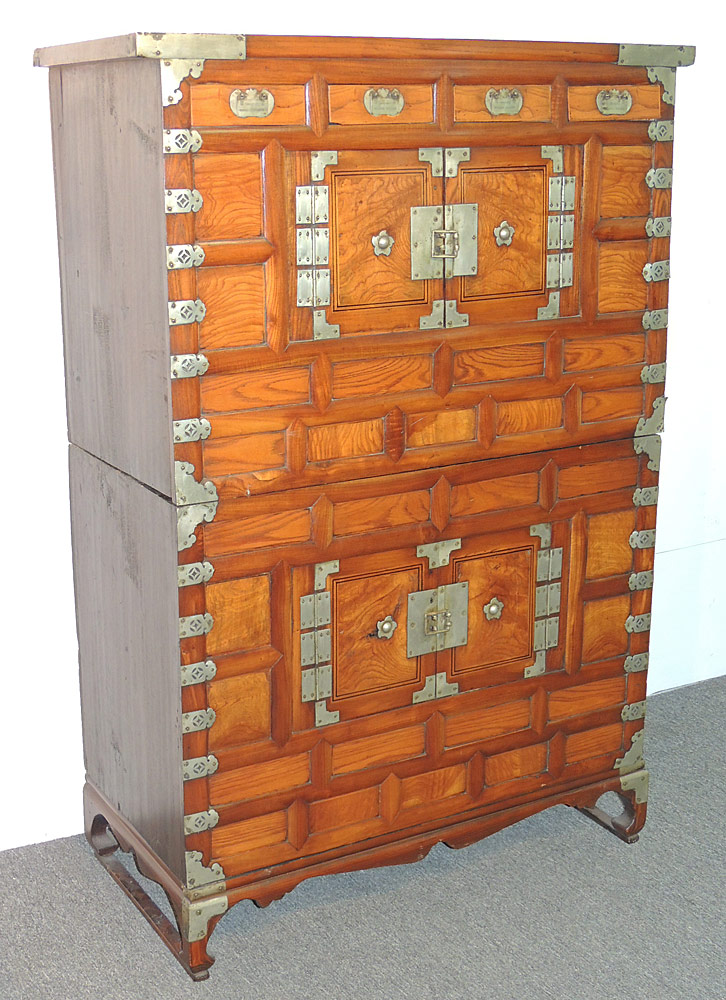 Korean Two-Stack Tansu Chest