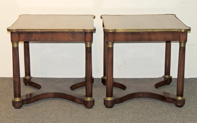 Pr. French Empire-style Tables