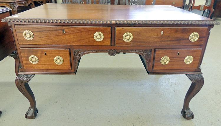 Centennial Mahogany Partners' Desk