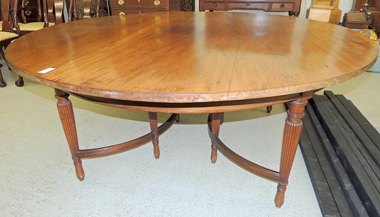 Feldenkreis attrib. Mahogany Dining Table