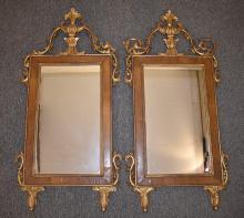 Pair of George II Mirrors