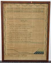 19th Century Sampler by Hellen Taylor