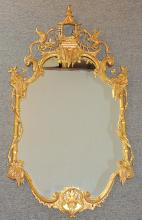 Chinese Chippendale-style Mirror