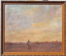 William Anderson Sherwood Oil/Canvas, Landscape
