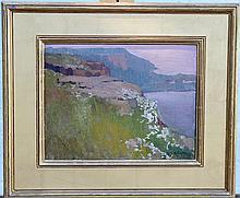 John Scott Williams Oil on Panel, Landscape