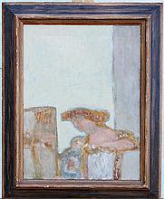 Harry Sefarbi. Oil on Panel