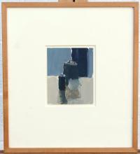 Stuart Shils. Oil on Paper