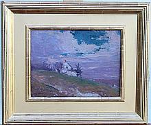 John Scott Williams. Oil on Panel