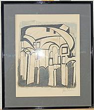 Ben Shahn Watercolor