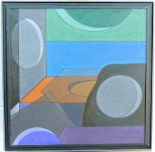 Paul Sanasardo Oil on Canvas