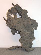 Large Welded Bronze Abstract Sculpture