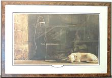 Andrew Wyeth Print, Ides of March