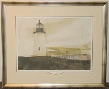Andrew Wyeth Print, Easterly