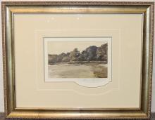 Andrew Wyeth Print, Landscape