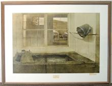 Andrew Wyeth Print, Spring Fed