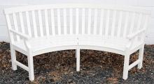 Weatherend Patio Quarter-Circle Settee