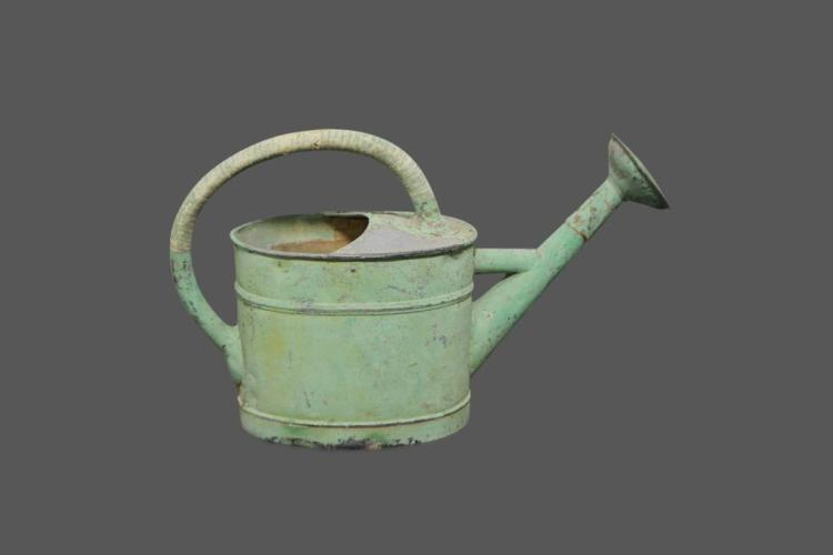 French Painted Watering Can 16