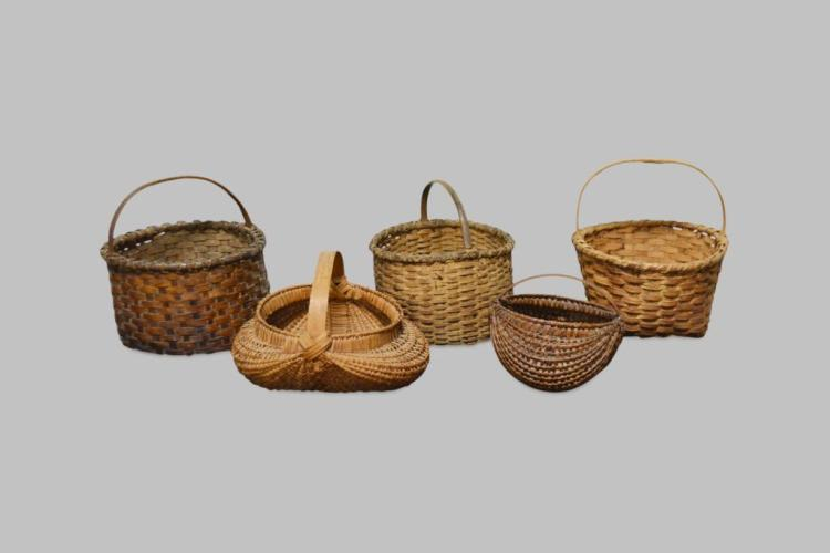 5-Piece Early Basket Lot 7 1/2