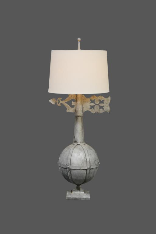 Metal Architectural Finial Lamp 47