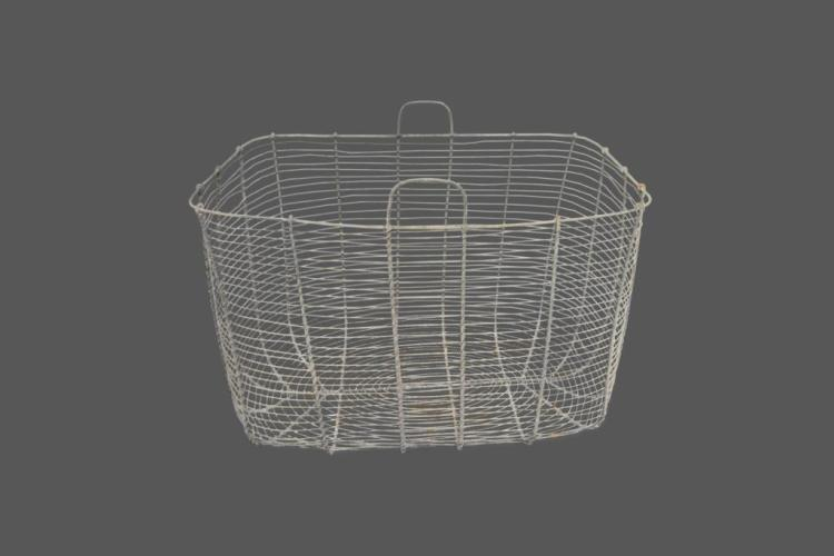 French Wire Gathering Basket 19 1/2