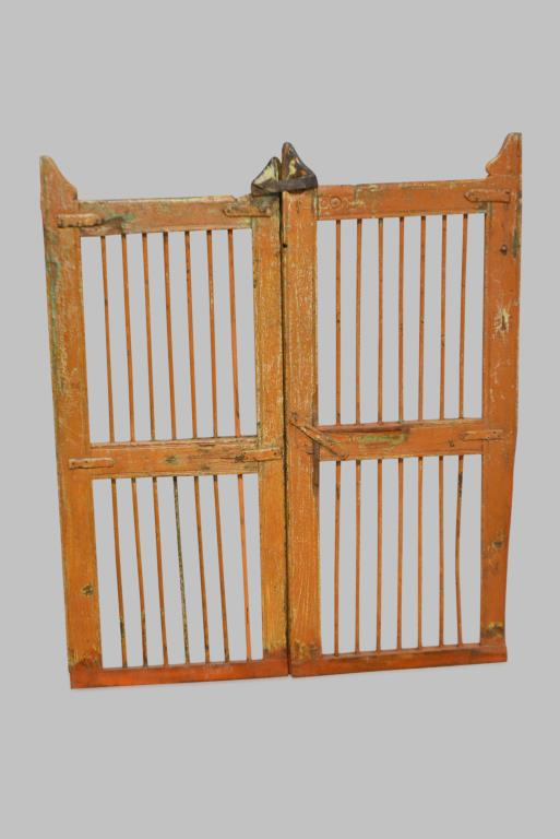Pair of Painted Gates 47 1/4
