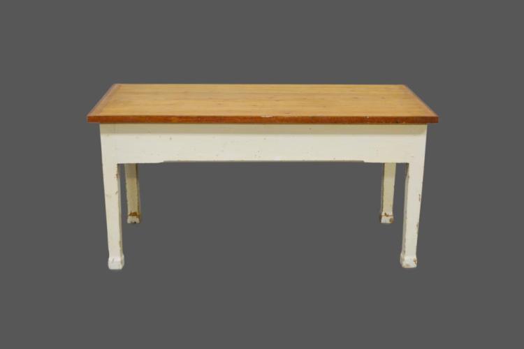 Painted Farm Table 30 1/4