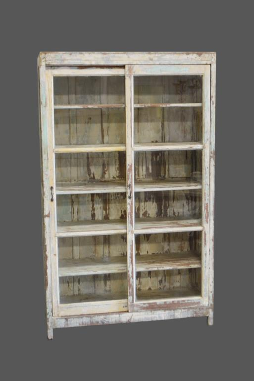 General Store Display w/ Sliding Glass Doors 78