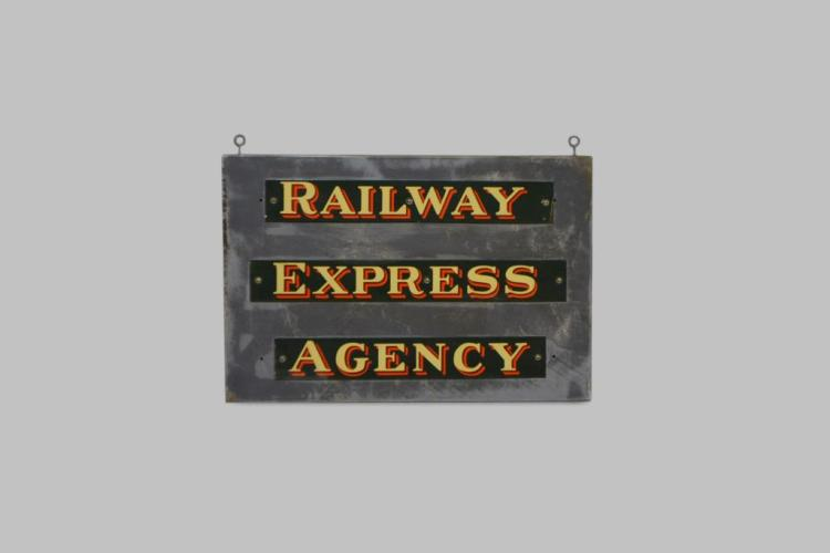Railway Express Agency Sign 24