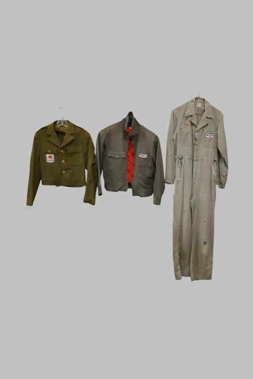 3pc. Lot of Mobil Service Station Apparel