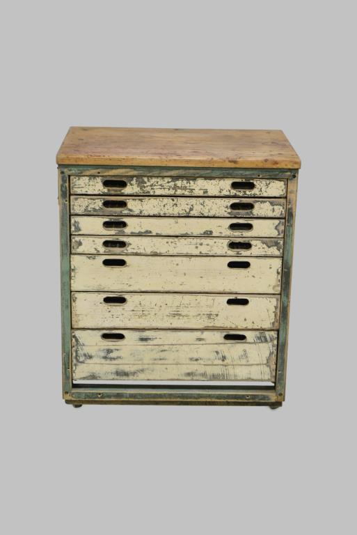 Industrial Painted File Unit 36