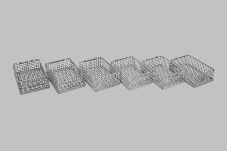 Industrial Wire Basket X-6 6 1/2