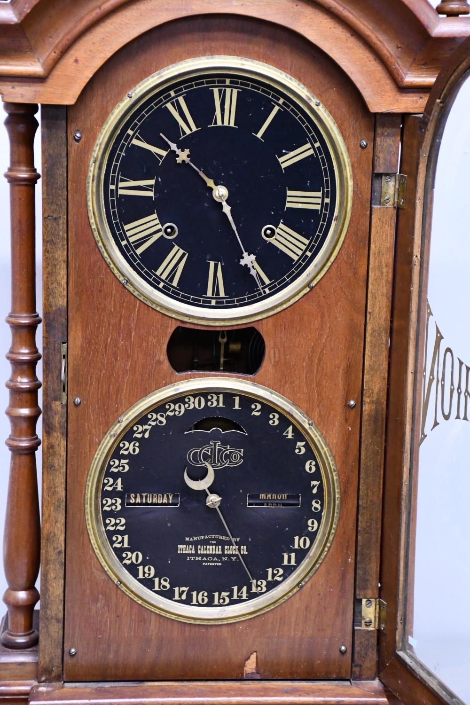 Ithaca Victorian Calendar Clock- Works